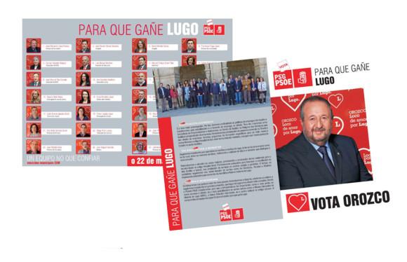 Folletos Campañas Electorales